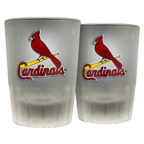 (St. Louis Cardinals Frosted Shot Glasses - Sports Crate Exclusive)