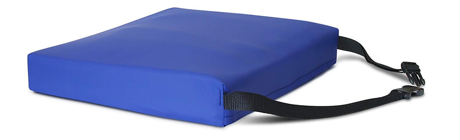 Apex Gel-Foam Cushion in Royal Blue Size: 3'' H x 20'' W x 18'' D by NYOrtho
