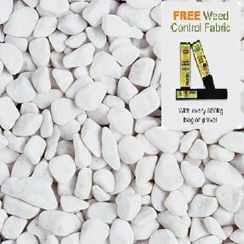 espagnol Blanc Galets Vrac Sac - 850 kg: Amazon.fr: Jardin