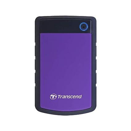 Transcend StoreJet 25H3 - Disco duro externo de 1 TB (ultra resistente de grado militar, 2.5