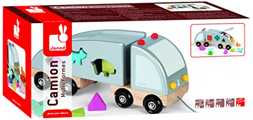 Janod Shape Sorting Truck by Janod