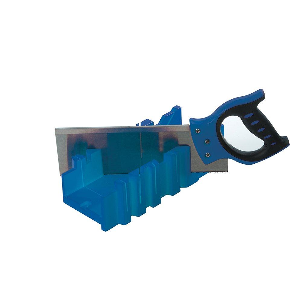 Caja de ingletes con sierra 300 x 90 mm Silverline 335464
