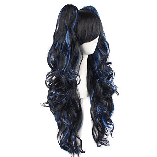 Buy lolita cosplay dress blue