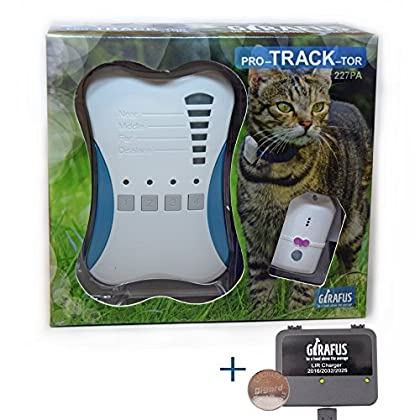 Girafus Cat Tracker RF Fi...