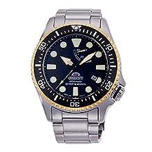 Orient Reloj Analógico para Hombre de Automático con Correa en Acero Inoxidable RA-EL0003B00B
