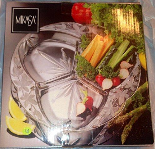 Mikasa 3 Part Divided Server 12 - Vegetable Divided Server