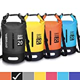 arteesol Dry Bag, 5L 10L 20L 30L Waterproof Dry Bag/Sack Waterproof Bag