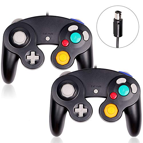 Gamecube Controller,2 Pack Classic Wired Controllers Gamepad for Wii Gamecube,Compatible with Wii Nintendo Gamecube