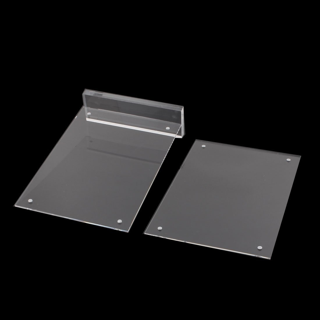 DealMux Strong Magnetism Vertical Advertising Tag Card Display Stand Menu Price Holder 21x14.8cm