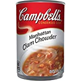 Campbell's Condensed Manhattan Clam Chowder, 10.75 oz. Can (Pack of 12)