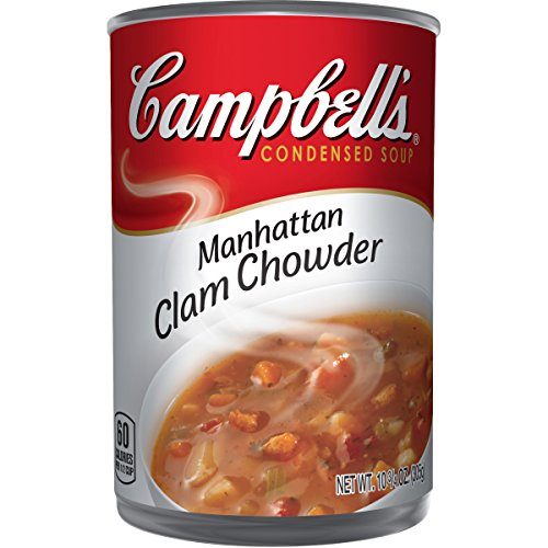 Campbell's Condensed Manhattan Clam Chowder, 10.75 oz. Can (Pack of - Chowder Clam Manhattan