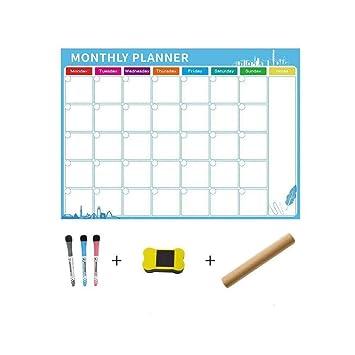 Calendario Calendario magnética de borrado en seco for el ...