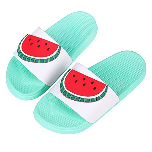 Cute Bath Slippers Colorful Fruit Beach Sandals Shower Shoes for Adults and Kids