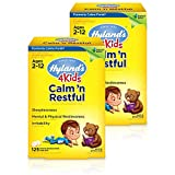Natural Sleep Aid, Hyland's 4 Kids Calm 'n Restful Calms Forte, Relief of Insomnia and Restlessness for Children, 125 Sleeping Tablets (2 Pack)