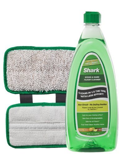 Price comparison product image Shark Wood and Hard Floor Cleaner Concentrate and Microfiber Pad for Sonic Duo System