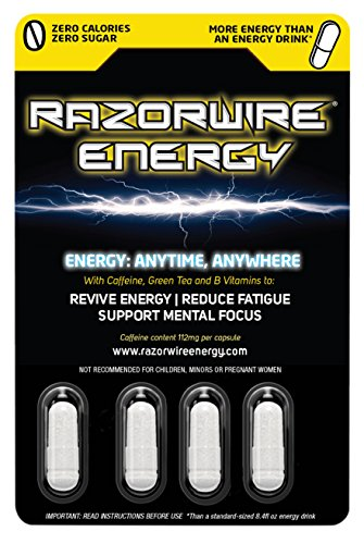 A Healthy Alternative to Energy Drinks Energy in A Capsule 1 Capsule = Over 1 can of 8.4fl oz Energy Drink 4 Sources of TIME Release Caffeine, B Vitamins Suitable for Vegans