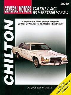 cadillac 1967 89 chilton book company repair manual the chilton rh amazon com 2007 Cadillac Eldorado 2000 Cadillac Eldorado