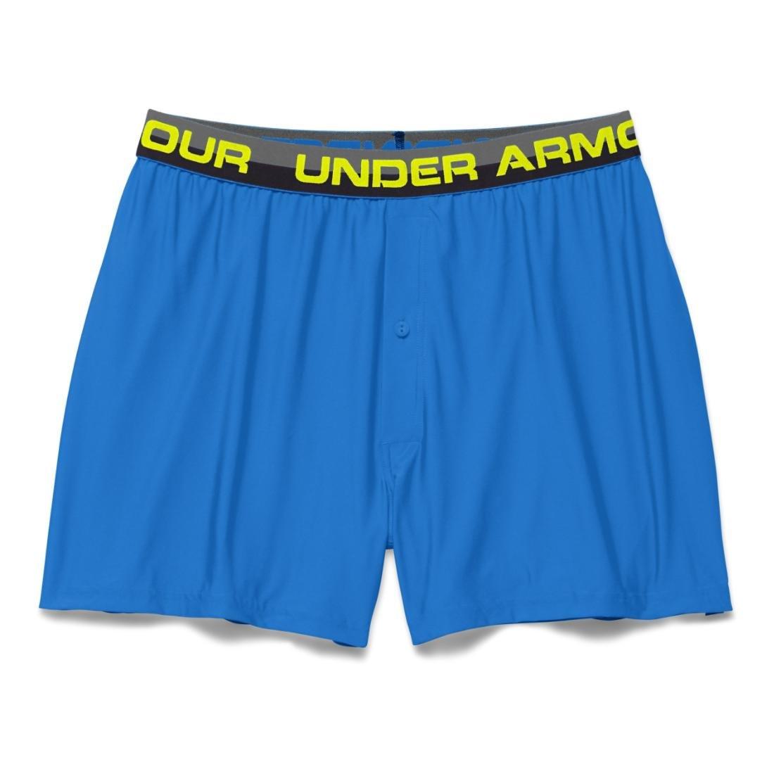 Under Armour Men's UA Original Series Boxer Shorts Small BLUE JET 00-QWGWM6-DE