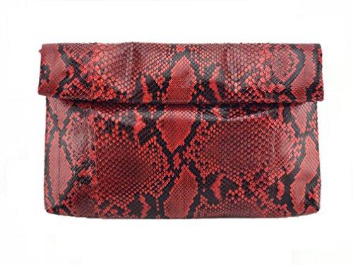 Skin Rolling Clutch Handbag (Exotic Skin Handbags)