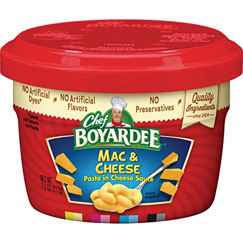 Chef Boyardee Macaroni and Cheese, 7.5-Ounce Microwavable Bowls (Pack of (Cheese Spaghetti)