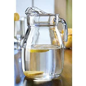 Style Setter Classic Everyday Basics Glass Pitcher, 2.8 liter