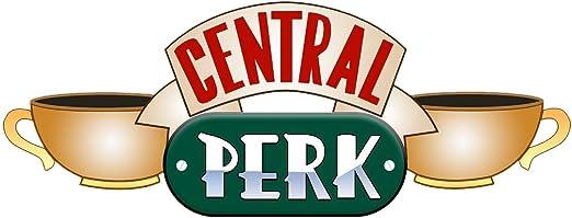 "Amazon.com: 18"" Central Perk #1 Friends Coffee Shop Logo ..."