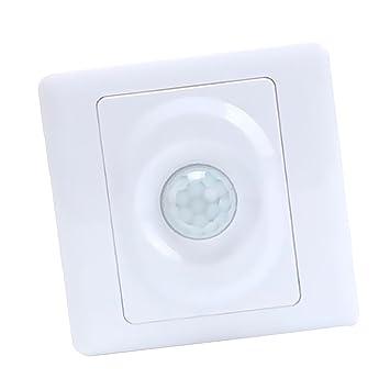 Baoblaze Par de Interruptor de Luz LED Detector de Movimiento para Oficina Hogar Herramientas