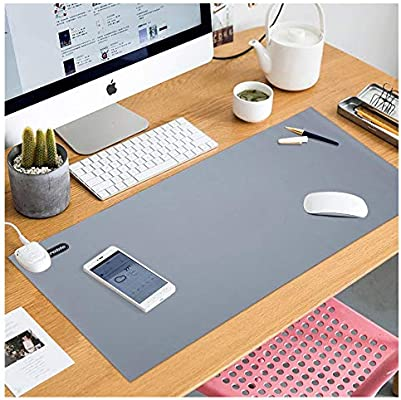 E/·Durable Desk Pad Protector 11.8x23.6 Foldable Desk Blotter Smooth Surface Easy Clean Laptop Desk Mat for Office//Home Office Desk Mat