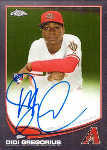 2013 Topps Chrome #65 Didi Gregorius Certified Autograph Baseball Rookie Card