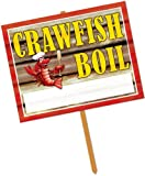 DDI - Crawfish Boil Yard Sign (Cases of 66 items)