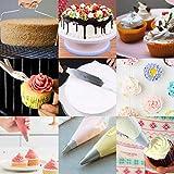 240Pcs Cake Decorating Supplies Kit -1 Turntable