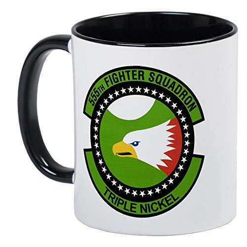 CafePress - 555Th Fighter Squadron Mug - Unique Coffee Mug, Coffee Cup (Fighter 555th)