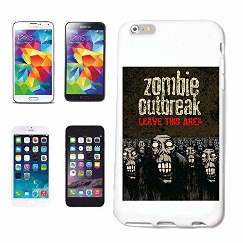 caja del teléfono iPhone 6S Del brote del zombi LICENCIA THISAREA MOTORISTA CAMISETA zombi que camina club de la motocicleta MUERTO GOTHIC INTERRUPTOR DIXON camisa de la banda Caso duro de la cubier
