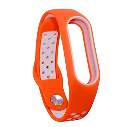 Hongxin Xiaomi Mi Band 2 Bracelet Strap For Miband 2 Colorful Strap  Wristband Replacement Smart Band Accessories For Mi Band 2 Silicone  Bracelet