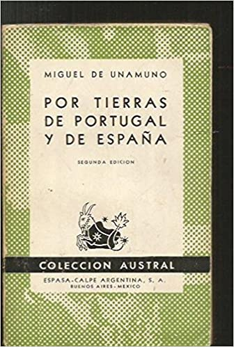 Por tierras de Portugal y de España. Tapa blanda by UNAMUNO, Miguel de.-: Amazon.es: Miguel de.- UNAMUNO: Libros