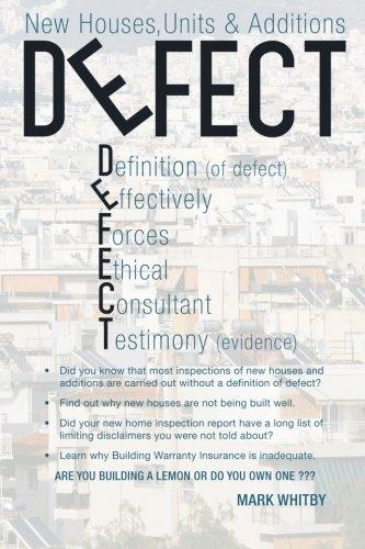 Defect: New Houses, Units & Additions pdf epub