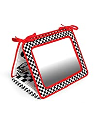 Black, White & Red, Smile! Baby 2-in-1 Crib & Floor Mirror BOBEBE Online Baby Store From New York to Miami and Los Angeles