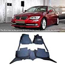 Car Interior Carpets Floor Mats Foot Pads Protector For BMW 3 Series E90 2010 2011 2012 (Left Hand Side Driving)