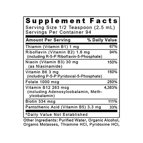 Max B-ND TM, 8 fl oz, Vegan Product - Probiotic-Fermented Vitamin B Complex Formula for Dynamic Liver, Energy, Brain and Mood Support by Premier Research Labs (Image #1)