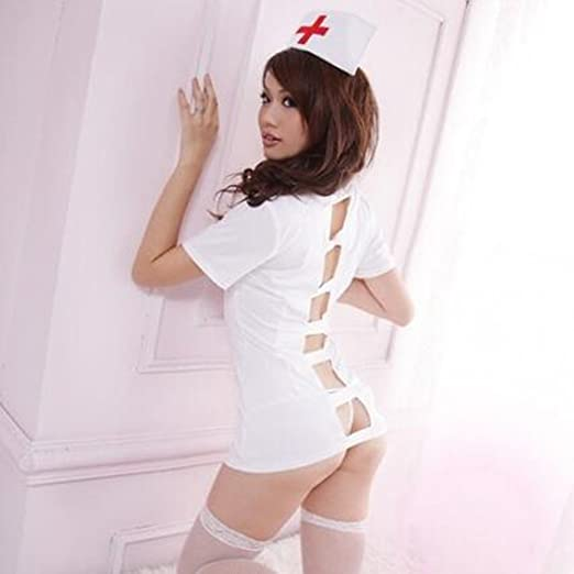 1e3504895 Image Unavailable. Image not available for. Color  Coolbuy Women Uniform  Sexy Lingerie Nurse Doctor Roles Cosplay Nurse Costume Babydoll