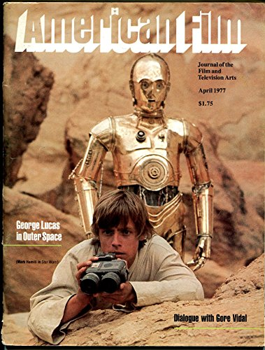 (American Film 4/1977-AFI-Mark Hamil-1st Star Wars cover-George Lucas-VG)