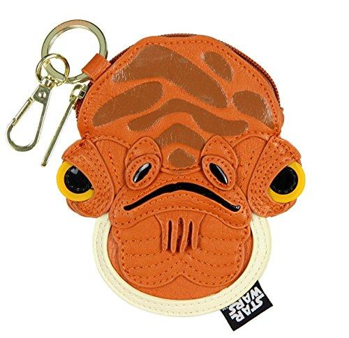 Loungefly Star Wars Admiral Ackbar Coin Bag Purse Wallet