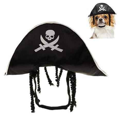 Aisoway Gato De Halloween del Perro De Perrito del Pirata Traje ...
