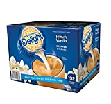 International Delight French Vanilla, 192 Count Single-Serve Coffee Creamers, Speciial Value 2 PackK