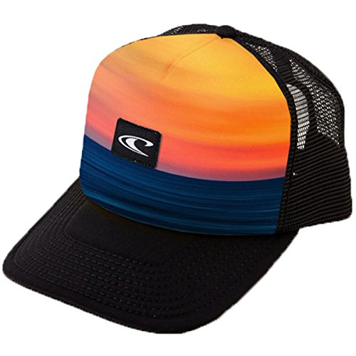 O'Neill Men's EZ Freak Trucker Hat, Burnt Orange, One - Oneill Mesh Hat