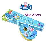 "Peppa Pig Ukulele Kids Child Music Instrument cute blue 14.5""(37 cm)"