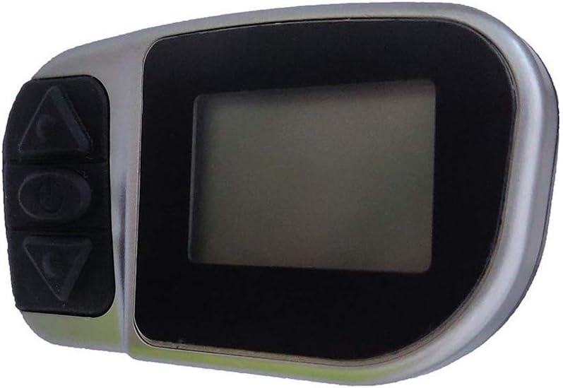 Pantalla de bicicleta el/éctrica Multifunciones Veloc/ímetro de bicicleta Od/ómetro Pantalla LCD Instrumento Motor V-L-C-D-6 Instrumento