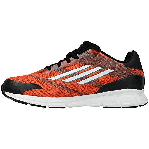 Adidas - Messi K - B44448 - Color: Negro-Rojo - Size: 39.3