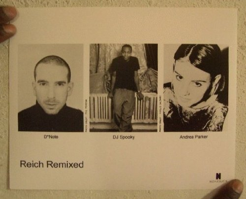 (Reich Remixed Press Kit Photo DJ Spooky Andrea Parker D*Note Dnote D Note)