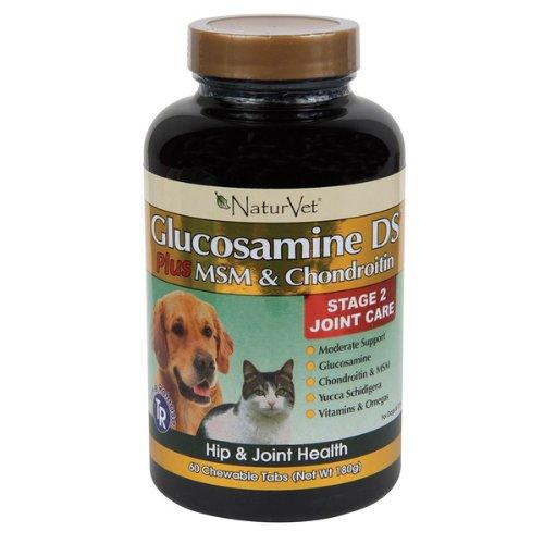 Garmon corporation / naturvet - NaturVet Glucosamine DS Tablet - 60 ct